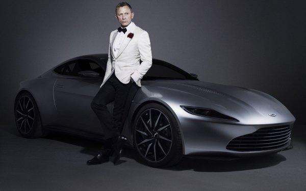 Celebrity Daniel Craig Actors United Kingdom James Bond Aston Martin 007 HD Wallpaper | Background Image