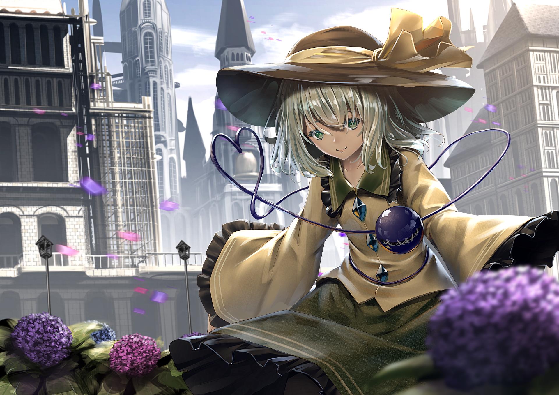 Anime - Touhou  Koishi Komeiji Wallpaper