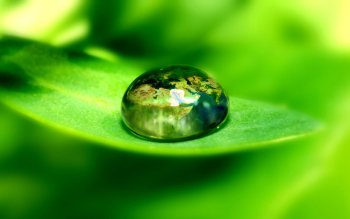 Earth - Water Drop Wallpapers and Backgrounds ID : 86236