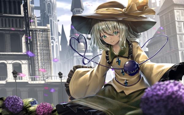 Anime Touhou Koishi Komeiji Hat HD Wallpaper | Background Image