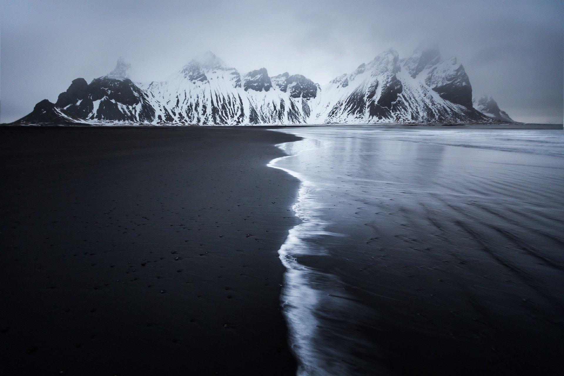 Earth - Beach  Nature Mountain Fog Sand Wallpaper