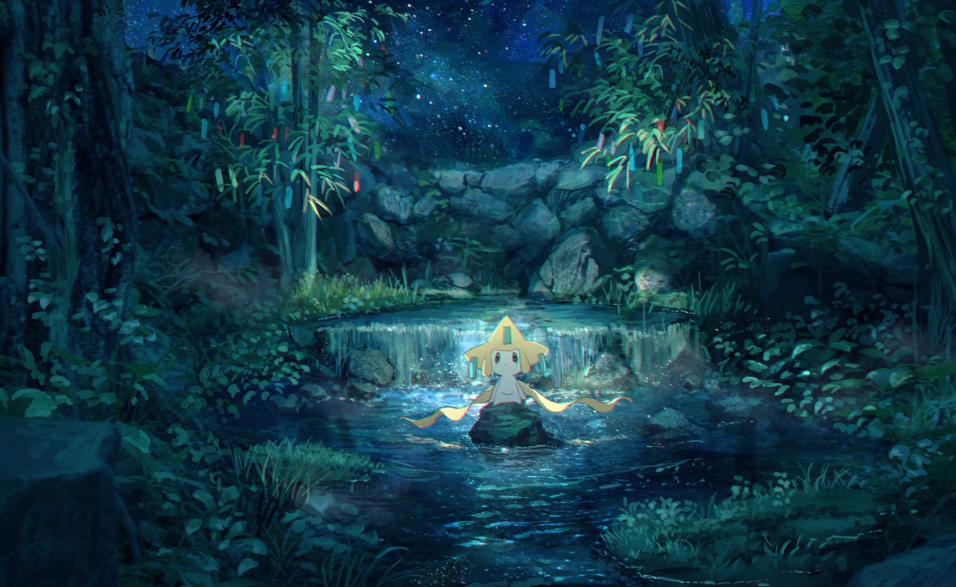Anime - Pokémon  Jirachi (Pokémon) Wallpaper