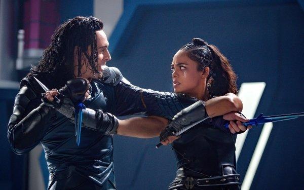 Películas Thor: Ragnarok Loki Tom Hiddleston Tessa Thompson Fondo de pantalla HD | Fondo de Escritorio