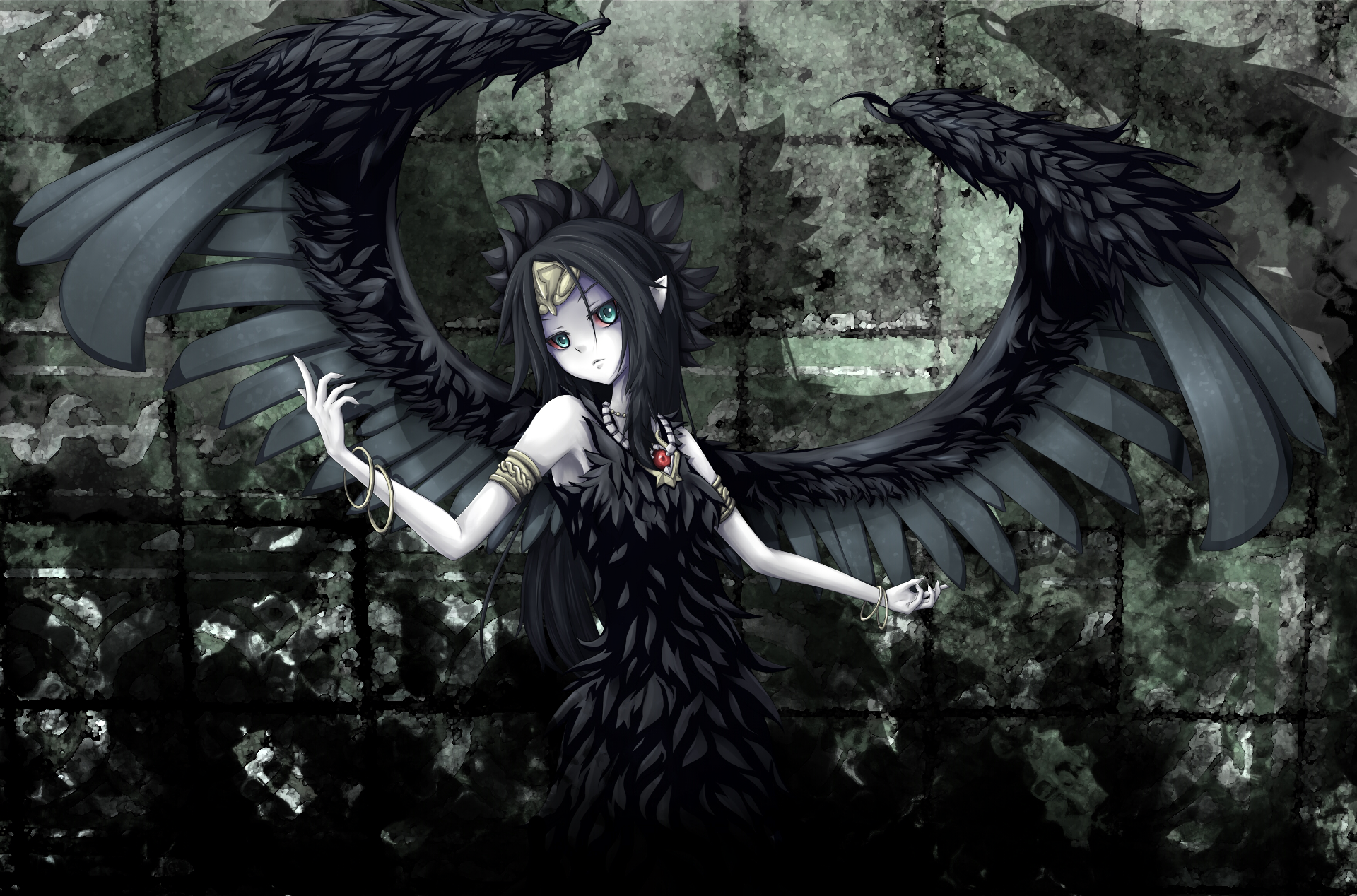 Anime Dark Angel Hd Wallpaper Background Image 1920x1268 Id