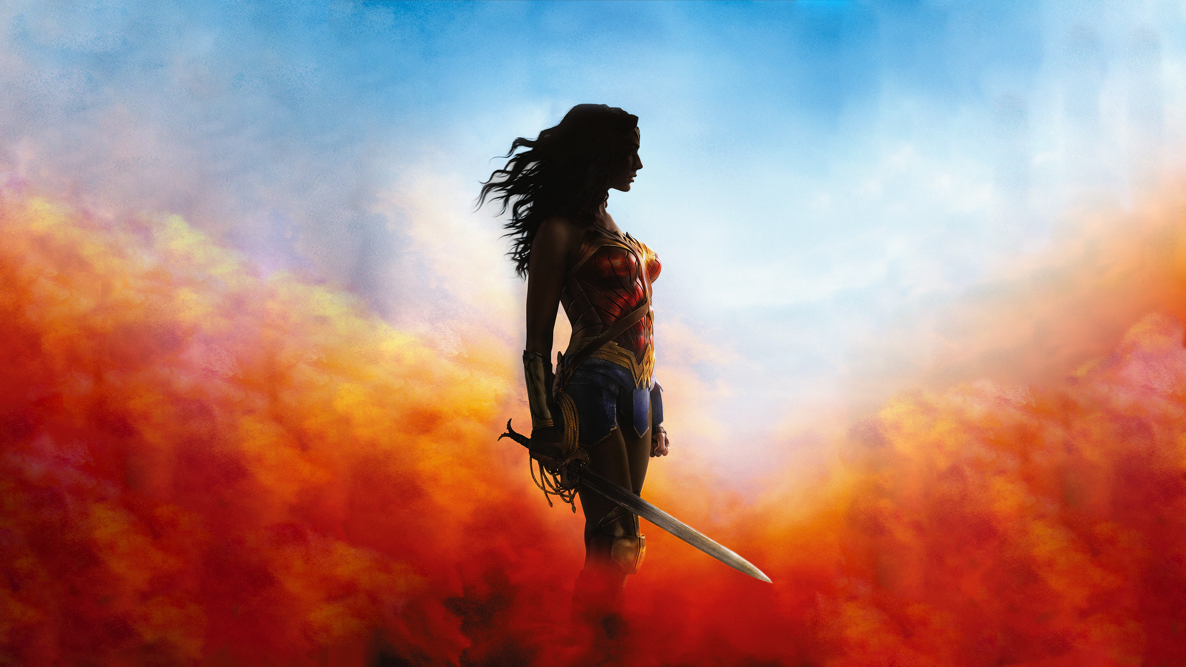 Wonder Woman 4k Ultra HD Wallpaper and Background 3840x2160 ID