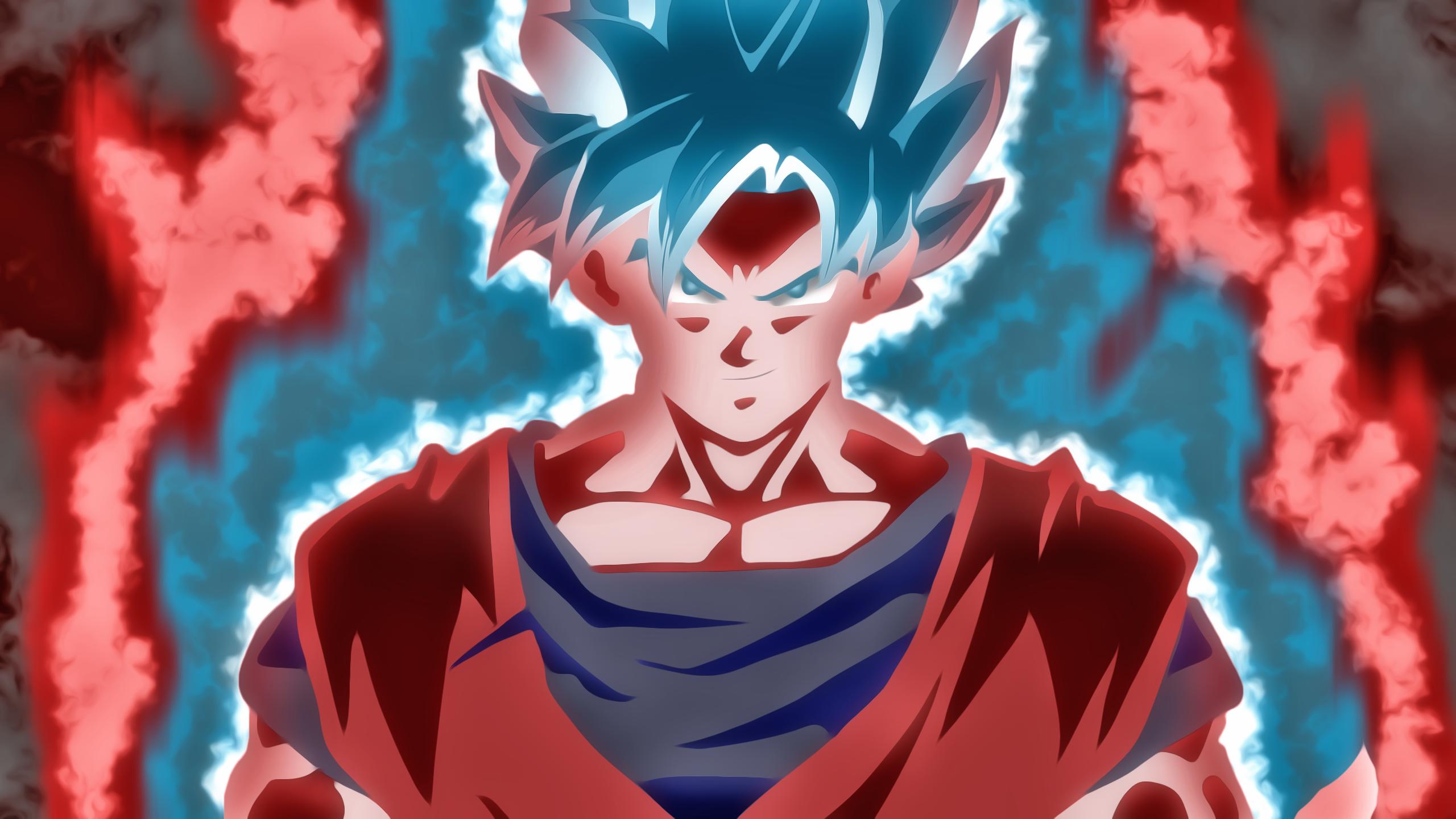 Goku Ssb Kaioken Hd Wallpaper Background Image 2560x1440 Id