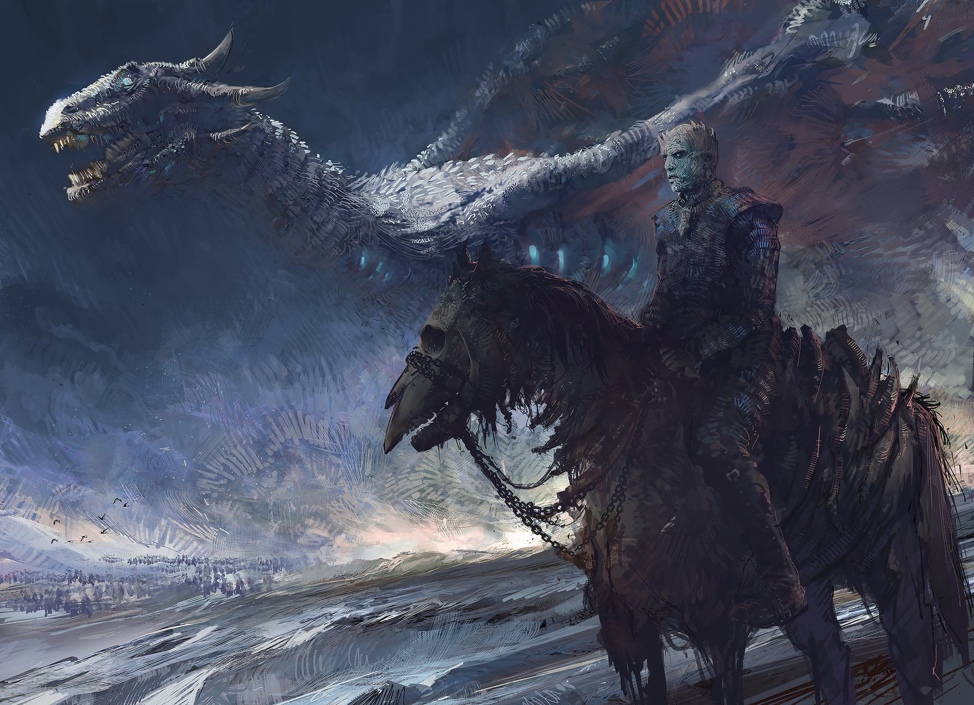 20 Night King Game Of Thrones Hd Wallpapers Background Images