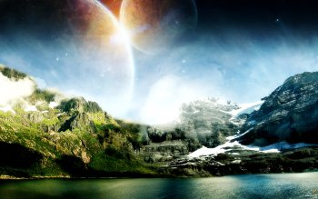 Sciencefiction - Landschap Wallpapers and Backgrounds ID : 86624