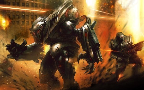 Sci Fi War Section 8 HD Wallpaper   Background Image