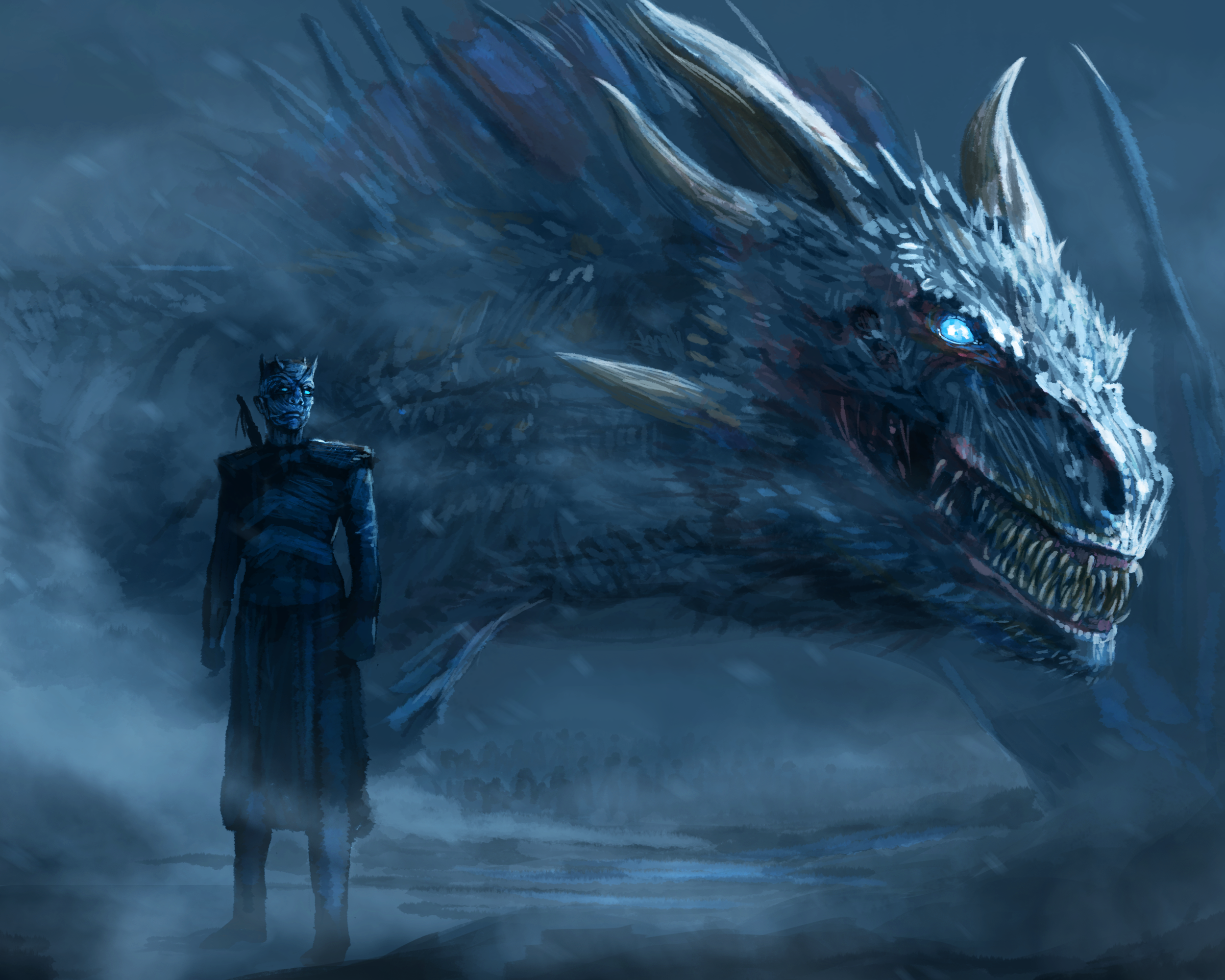 38 Night King Game Of Thrones Hd Wallpapers Background Images