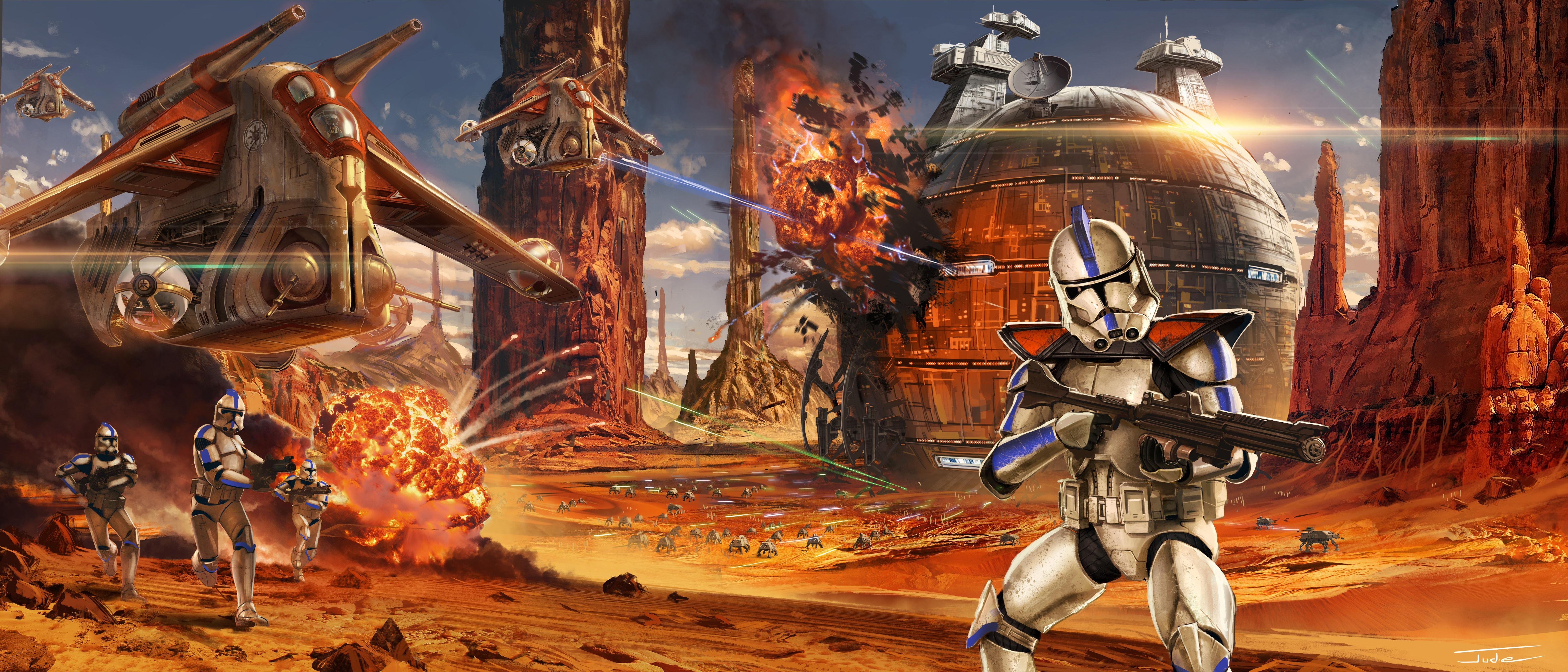 46 Clone Trooper Hd Wallpapers Background Images Wallpaper Abyss