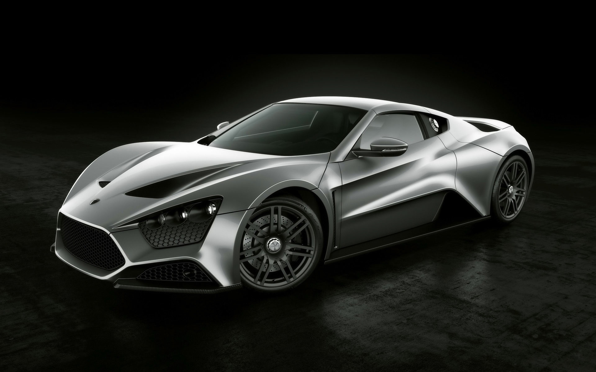 Fahrzeuge - Zenvo ST1  Zenvo Supercar Silver Car Car Vehicle Wallpaper