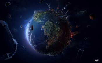 Earth - From Space Wallpapers and Backgrounds ID : 86738