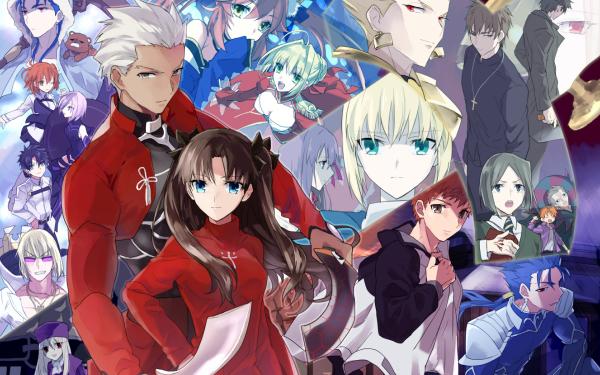 Anime Fate/Grand Order Fate Series Archer Rin Tohsaka Saber Red Saber Shielder Fujimaru Ritsuka Shirou Emiya Assassin Gilgamesh HD Wallpaper | Background Image