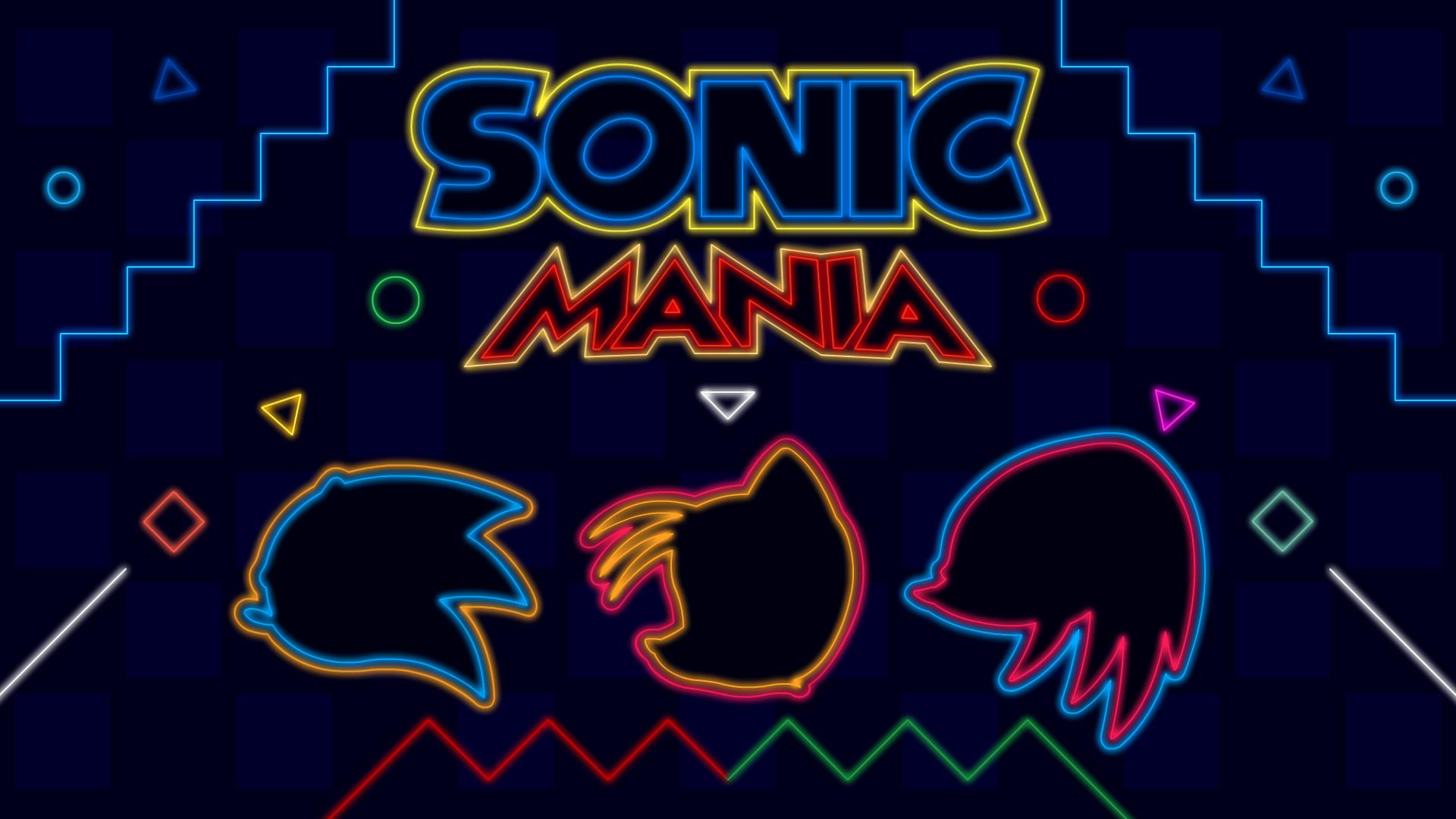 Sonic Mania Neon HD Wallpaper   Background Image ...