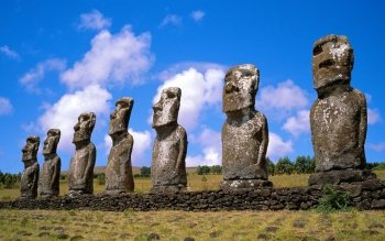 Man Made - Moai Wallpapers and Backgrounds ID : 86994