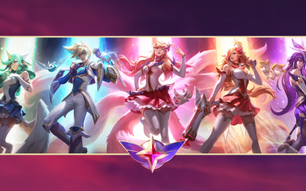 Video Game League Of Legends Soraka Ezreal Ahri Miss Fortune Syndra Star Guardians HD Wallpaper | Background Image