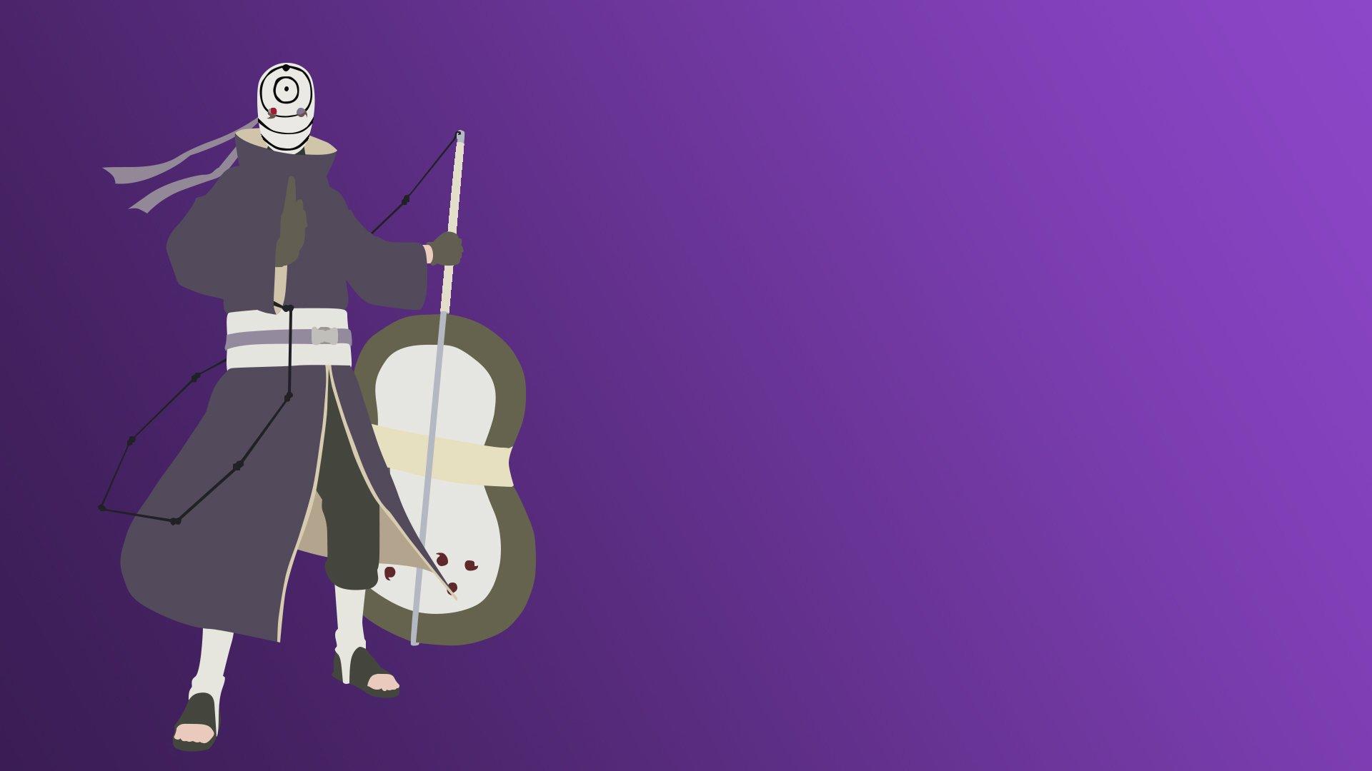 Minimalist Obito HD Wallpaper   Background Image ...