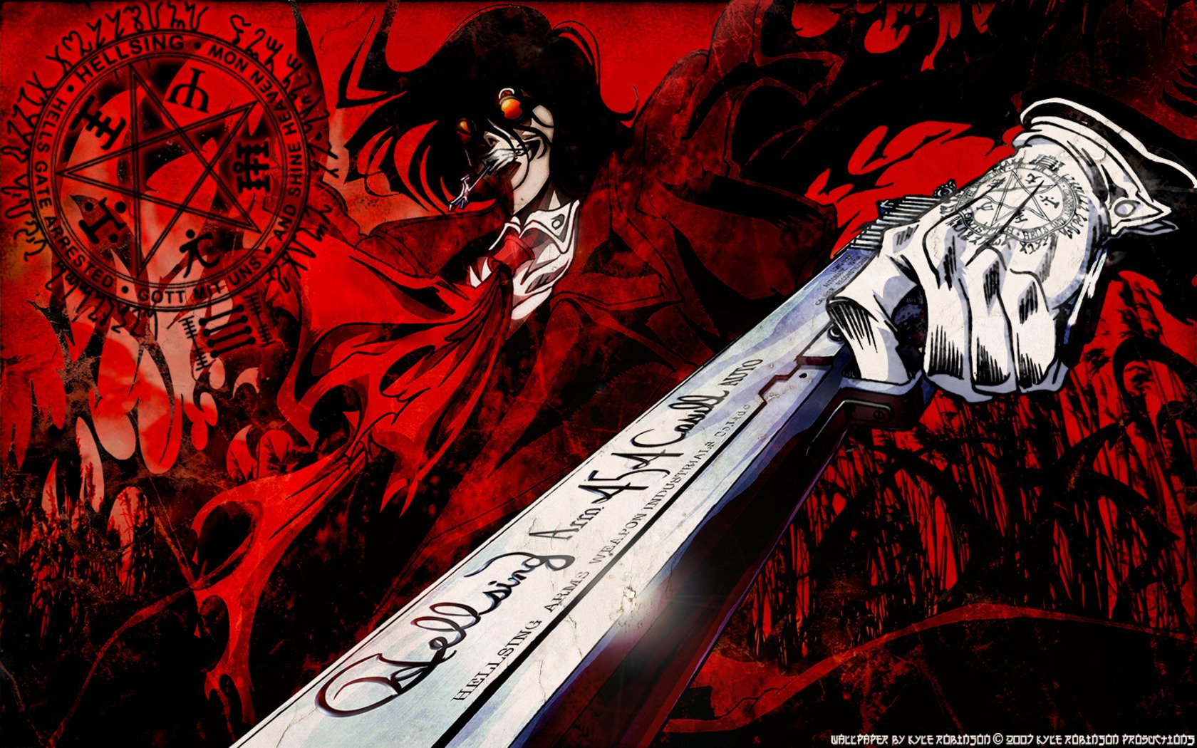 76 Alucard Hellsing Hd Wallpapers Background Images Wallpaper