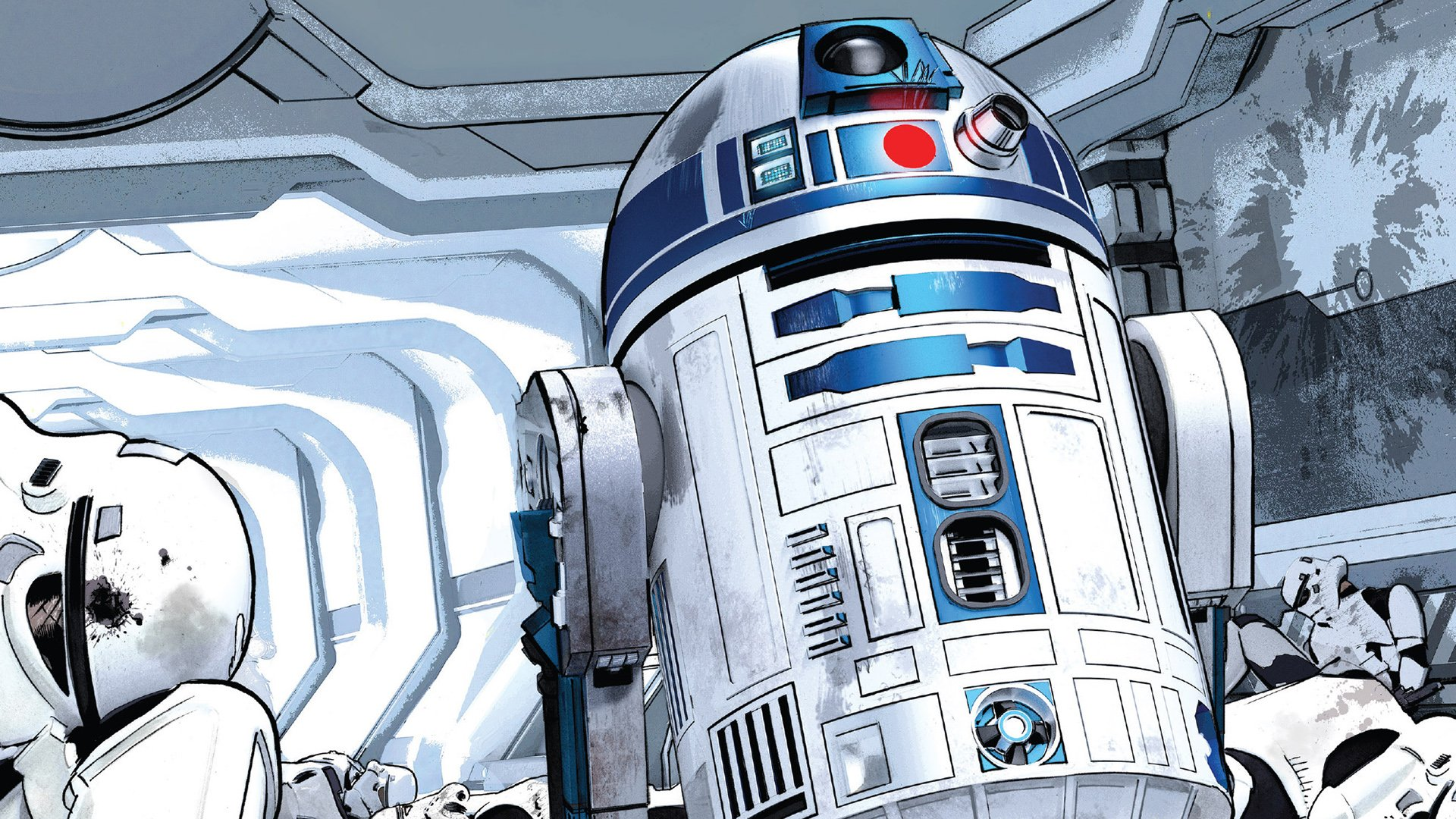Comics - Star Wars  R2-D2 Wallpaper