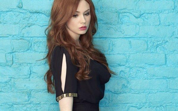 Celebrity Karen Gillan Actresses United Kingdom Actress Redhead Scottish HD Wallpaper   Background Image