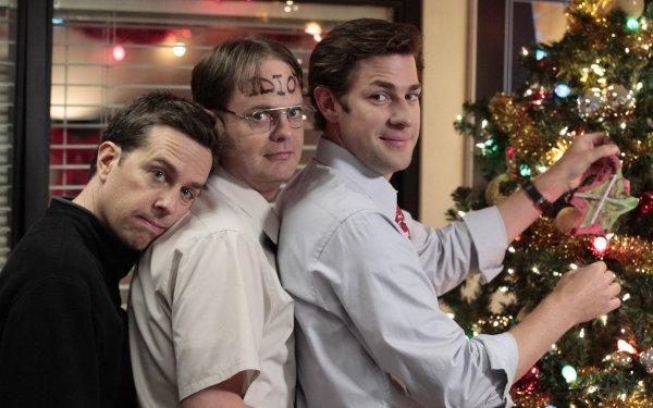 TV Show The Office (US) John Krasinski Jim Halpert Rainn Wilson Dwight Schrute Ed Helms Andy Bernard HD Wallpaper | Background Image