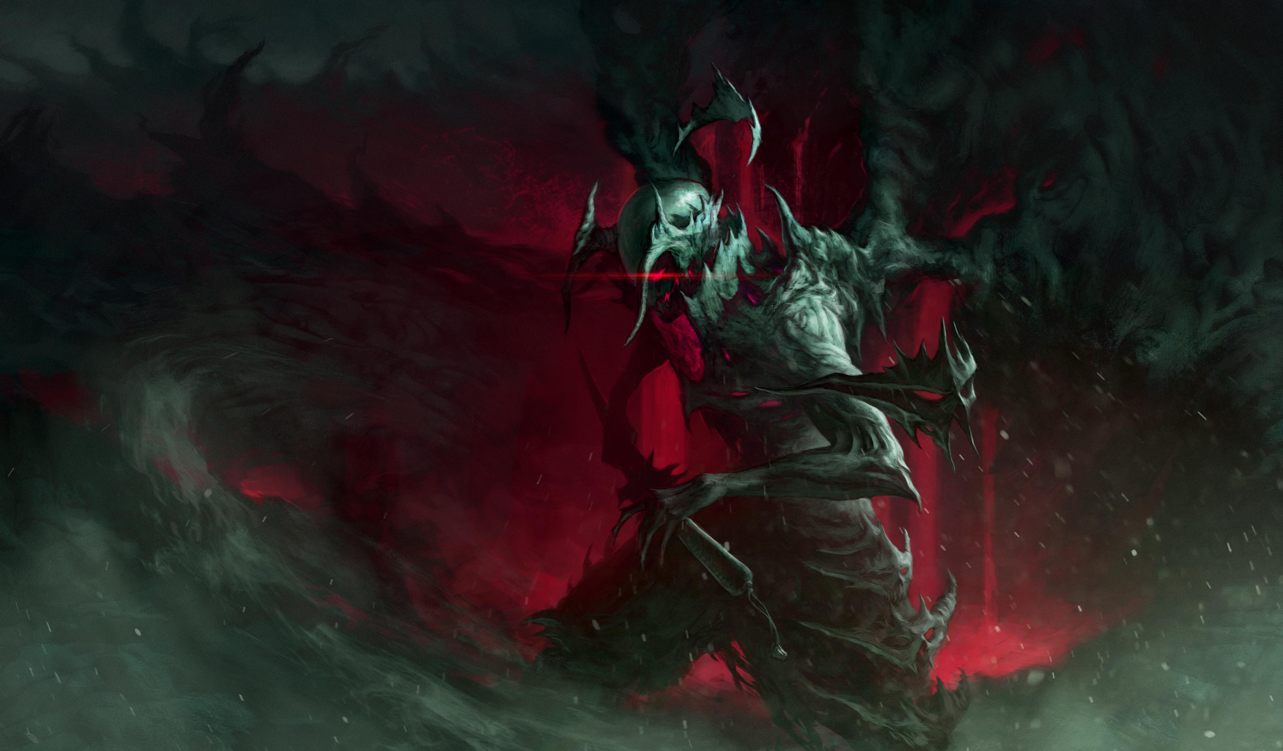 Demon 4k ultra hd wallpaper background image 4451x2607 - Demon wallpaper 4k ...