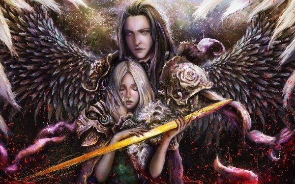Fantasy Angel Sad Wings Man HD Wallpaper   Background Image