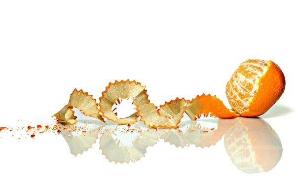 Photography Manipulation Fruit Reflection Mandarin HD Wallpaper | Background Image