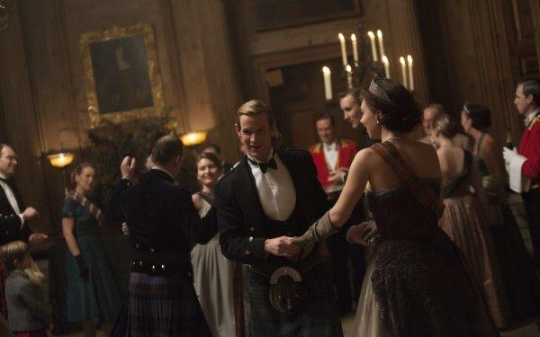 TV Show The Crown Prince Philip Matt Smith Princess Margaret Vanessa Kirby HD Wallpaper | Background Image