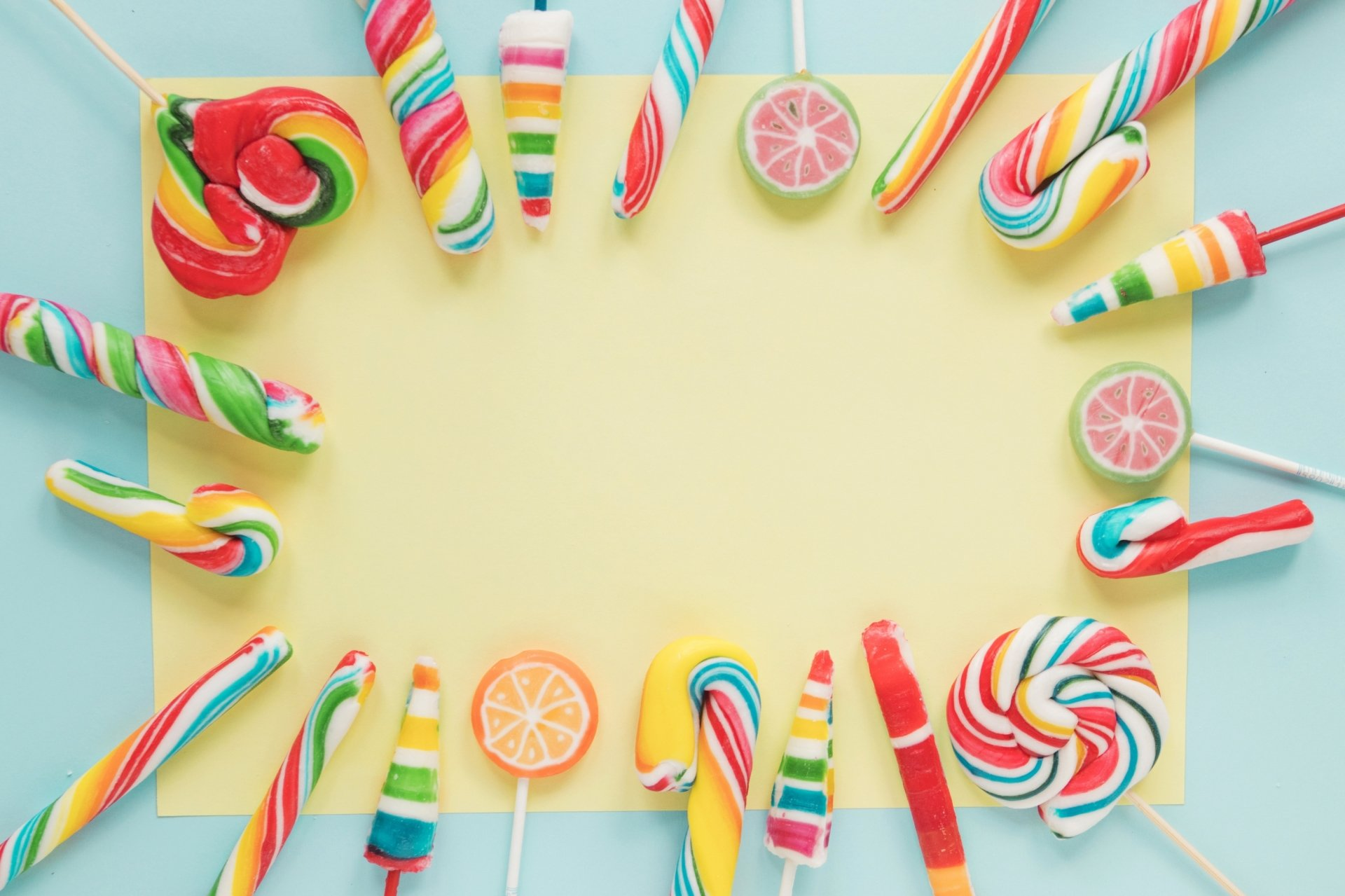 Food - Candy  Sweets Colors Lollipop Wallpaper