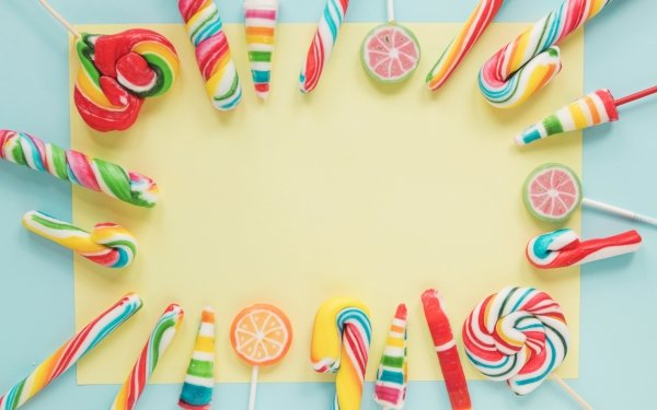 Food Candy Sweets Colors Lollipop HD Wallpaper | Background Image