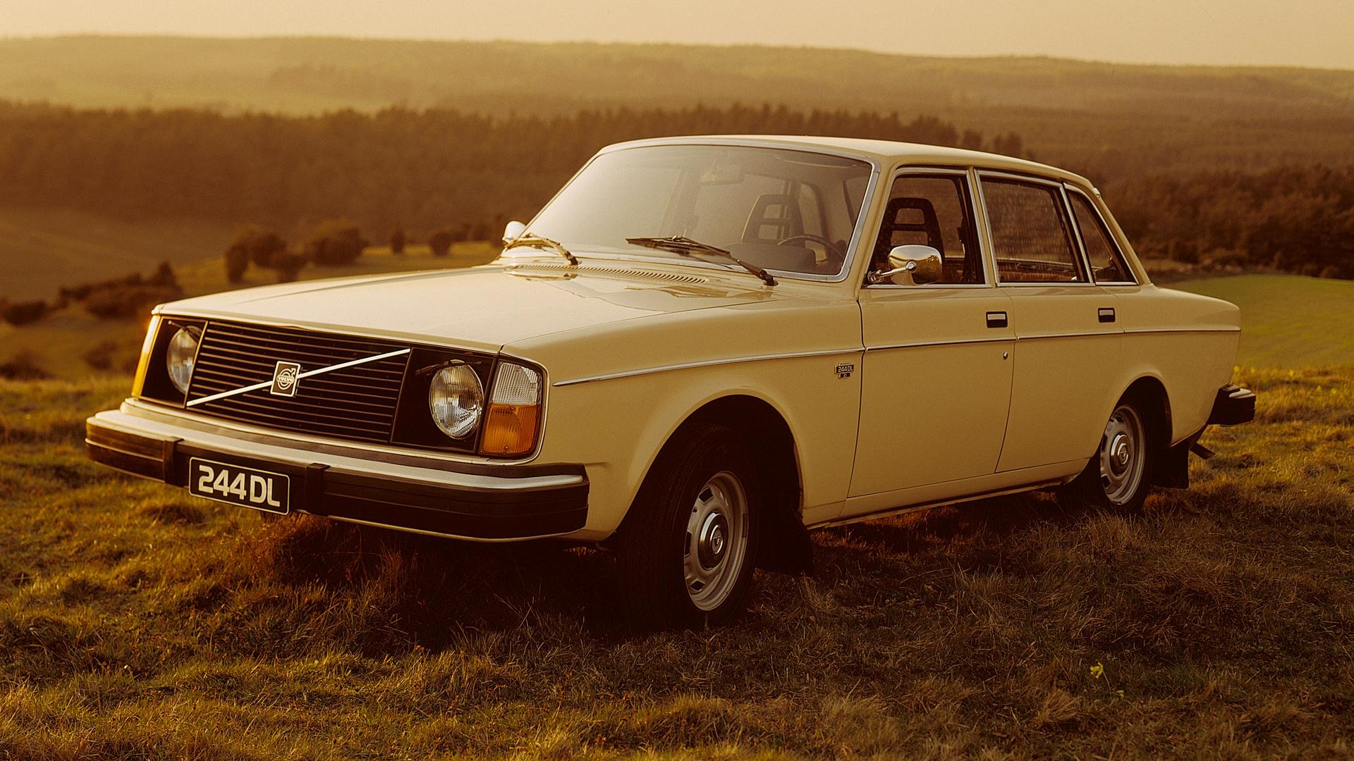1975 Volvo 244 Dl Hd Wallpaper Background Image 1920x1080 Id