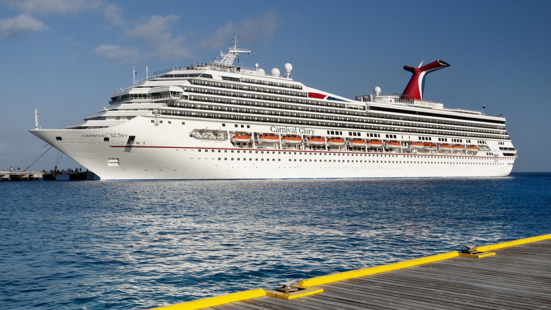 Cruise Ship Carnival Glory HD Wallpaper | Background Image ...