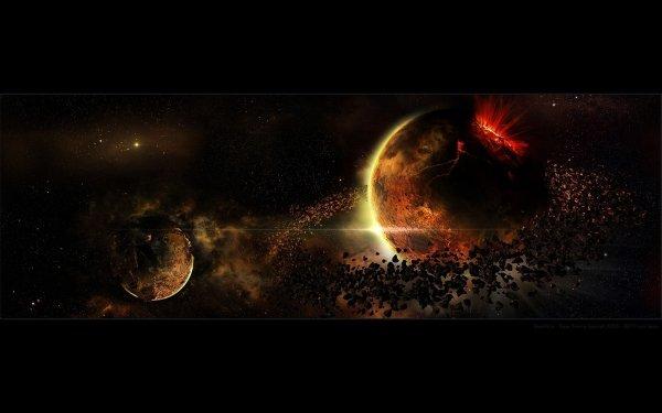 Ciencia ficción Planetas Planeta Espacio Armageddon Fondo de pantalla HD   Fondo de Escritorio