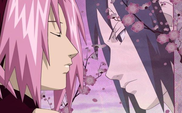 Anime Naruto Sasuke Uchiha Sakura Haruno HD Wallpaper | Background Image