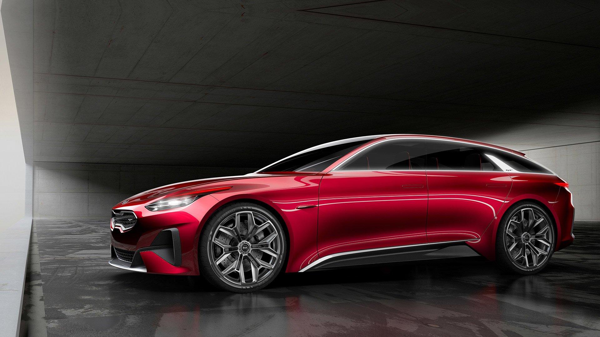 2017 Kia Proceed Concept Hd обои фон 1920x1080 Id