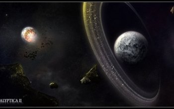 Sciencefiction - Planetary Ring Wallpapers and Backgrounds ID : 88056