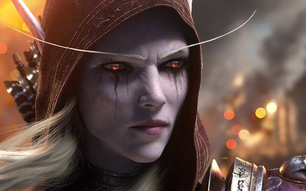 Video Game World of Warcraft: Battle for Azeroth World of Warcraft Sylvanas Windrunner HD Wallpaper | Background Image