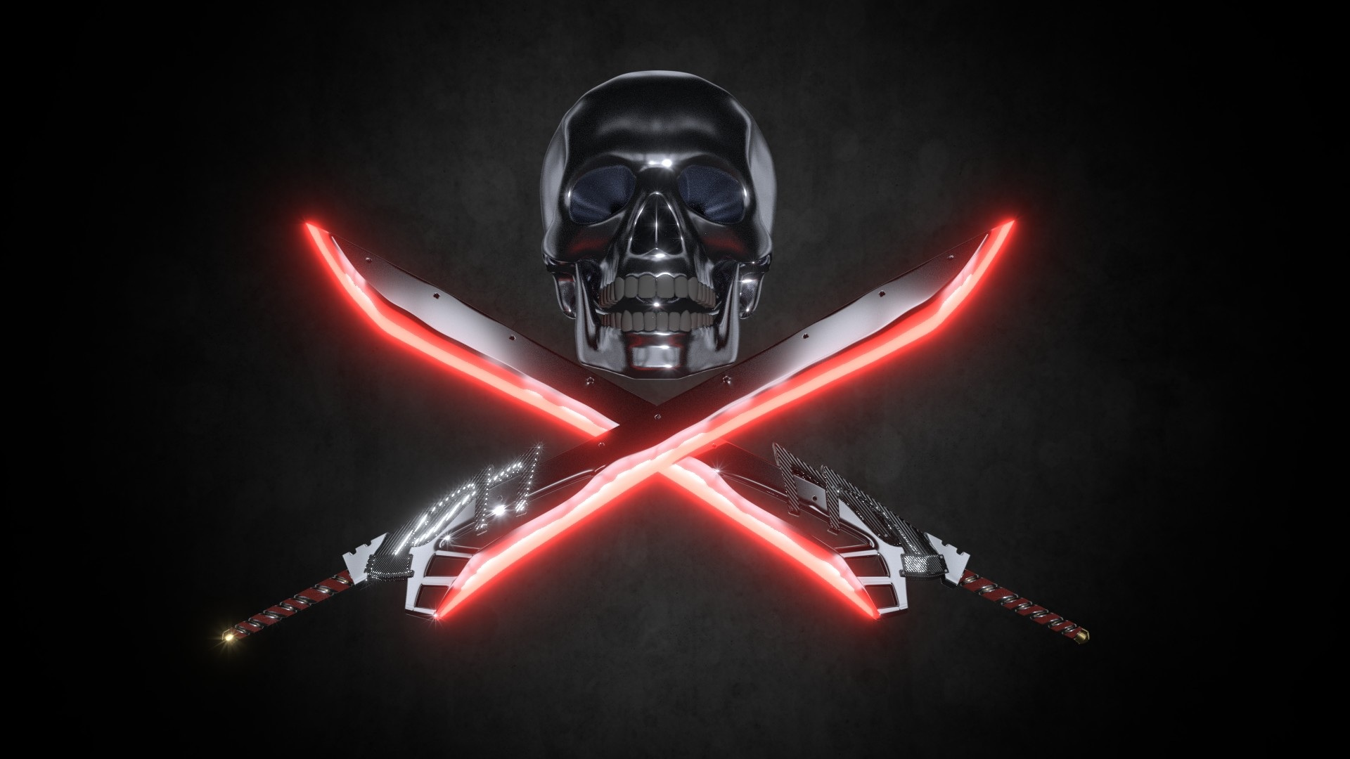 Different Take On Pirate Skull And Crossbones Hd Wallpaper