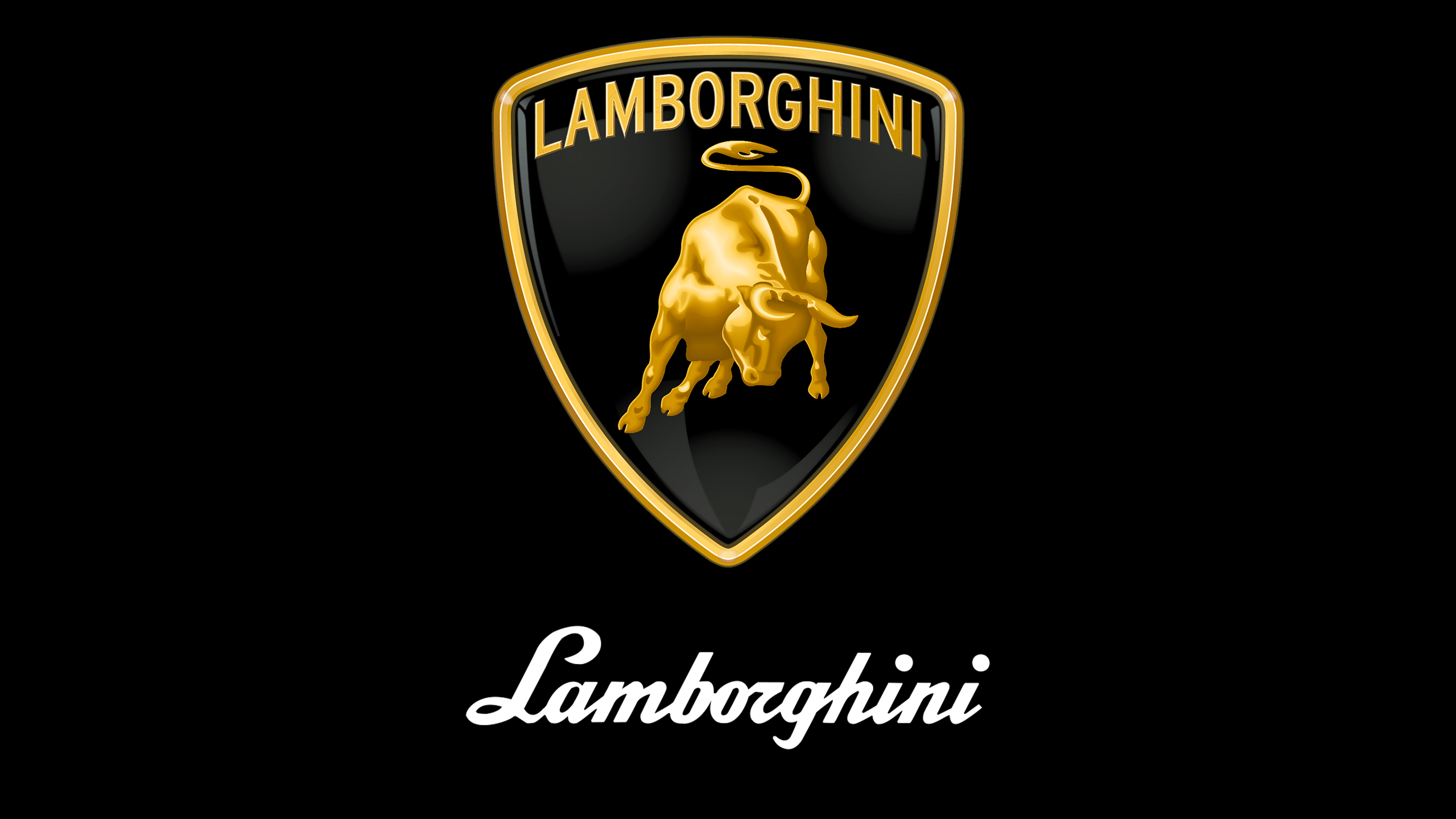 Lamborghini Logo Wallpaper 4k Ultra Hd Wallpaper Background Image
