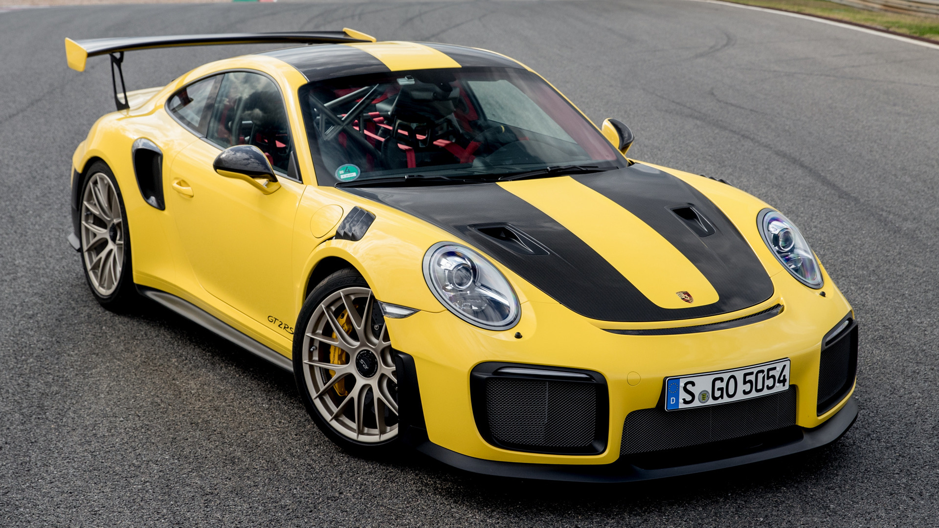 2017 Porsche 911 Gt2 Rs Hd Wallpaper Background Image
