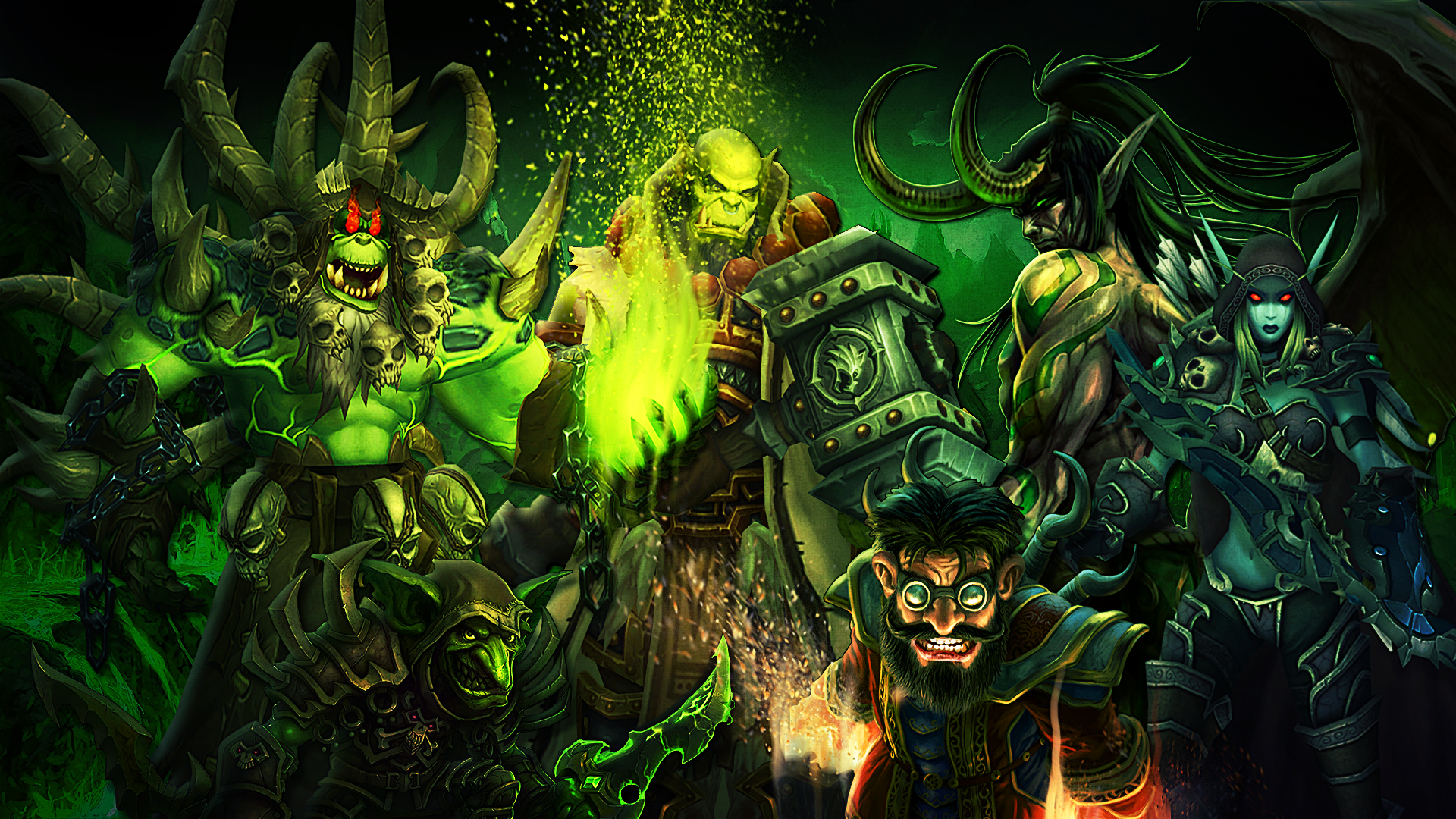 6 World Of Warcraft Legion Hd Wallpapers Background Images
