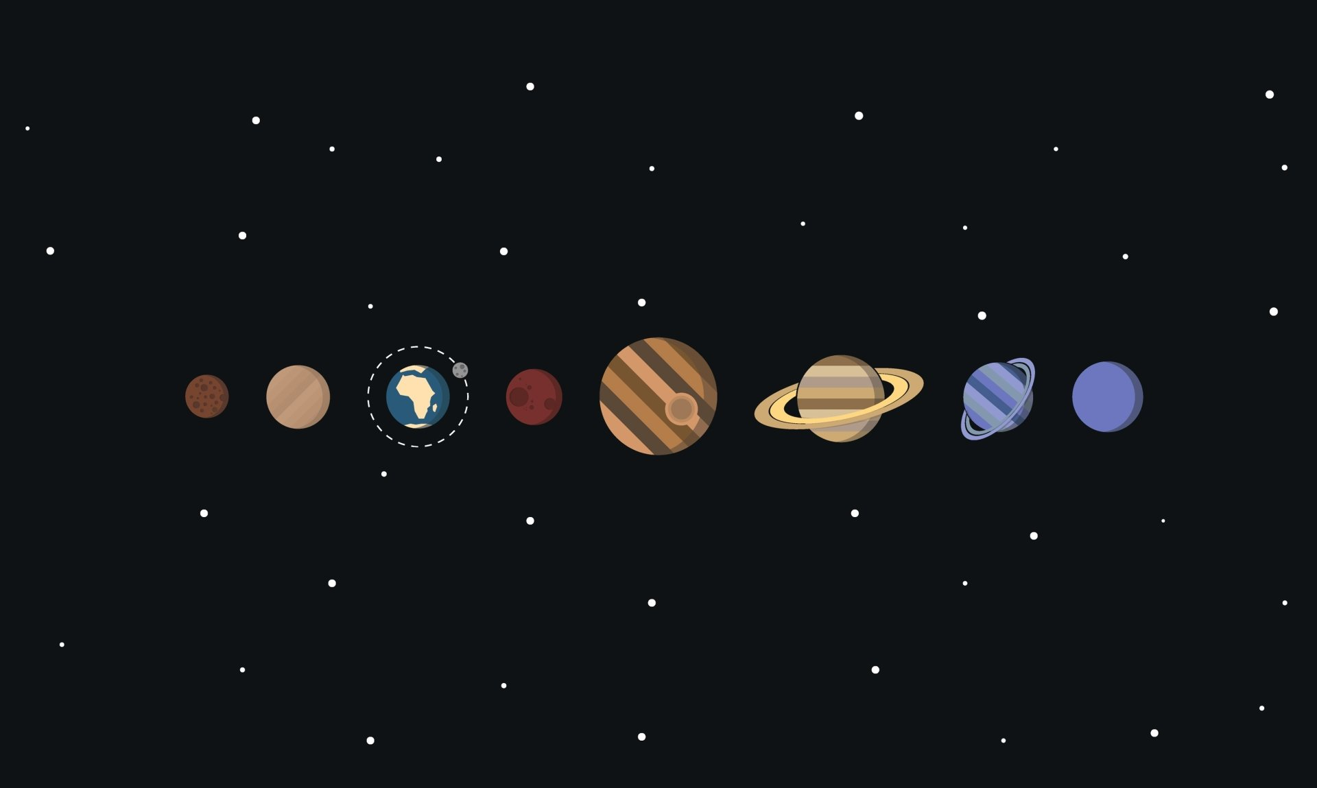 Science-Fiction - Solar System  Weltraum Künstlerisch Planet Wallpaper