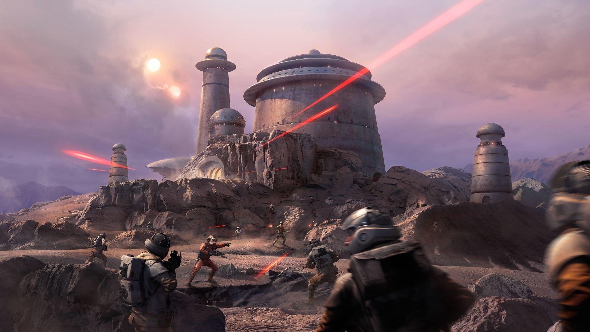 Video Game - Star Wars Battlefront (2015)  Star Wars Battlefront Rebel (Star Wars) Jabba's Palace Greedo (Star Wars) Nien Numb Wallpaper