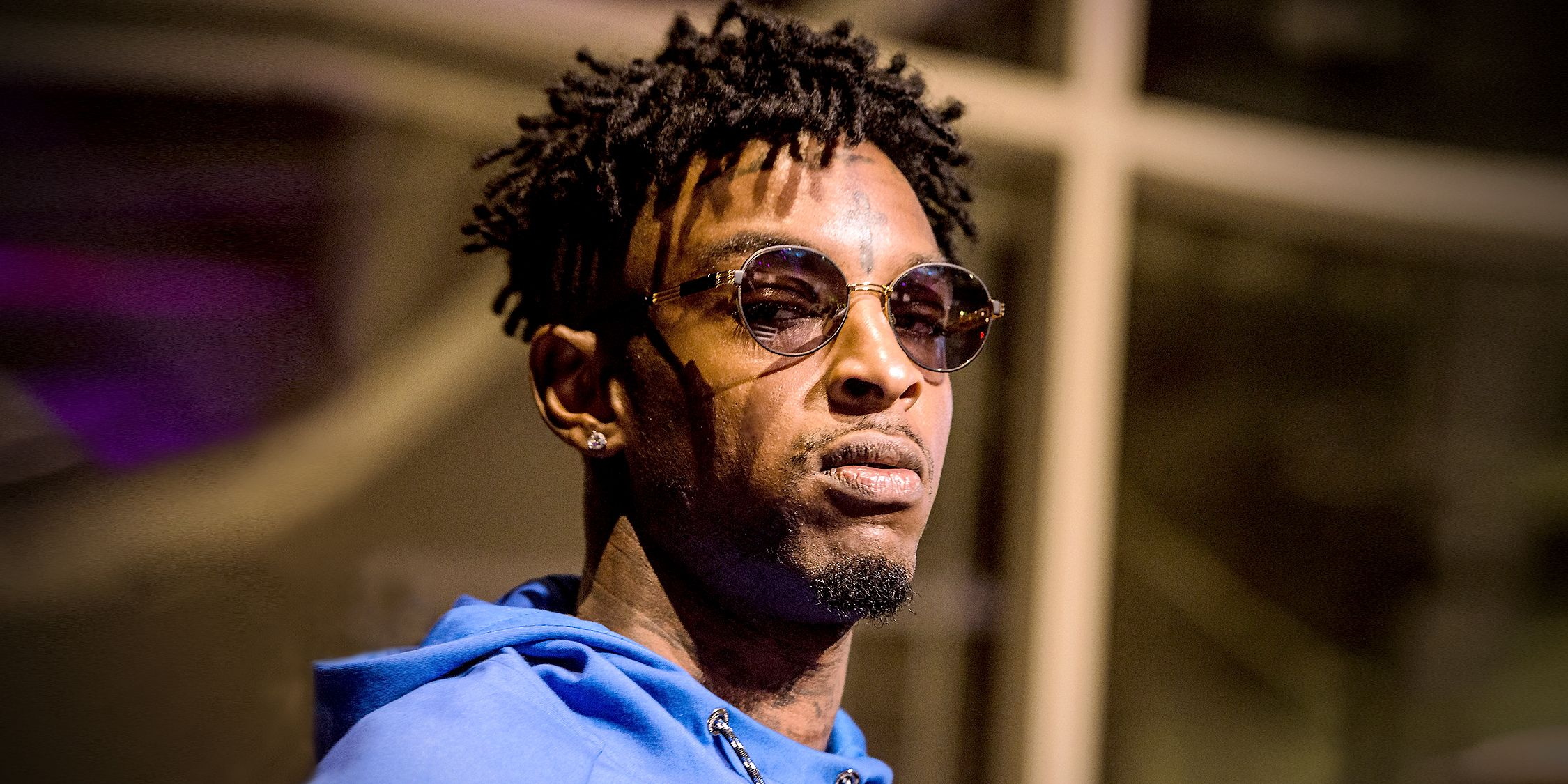 21 savage hd wallpaper background image 2250x1125 id 884258