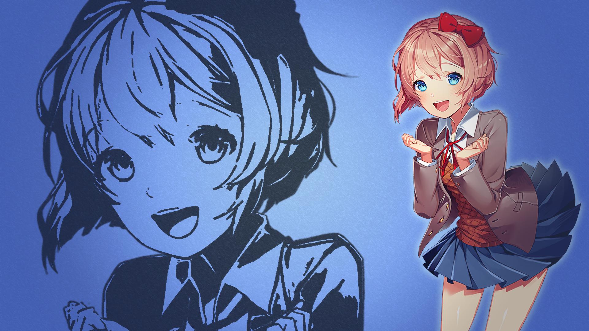 91 Doki Doki Literature Club Hd Wallpapers Background Images