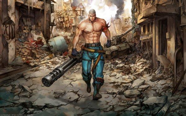 Video Game Tekken Bryan Fury HD Wallpaper | Background Image