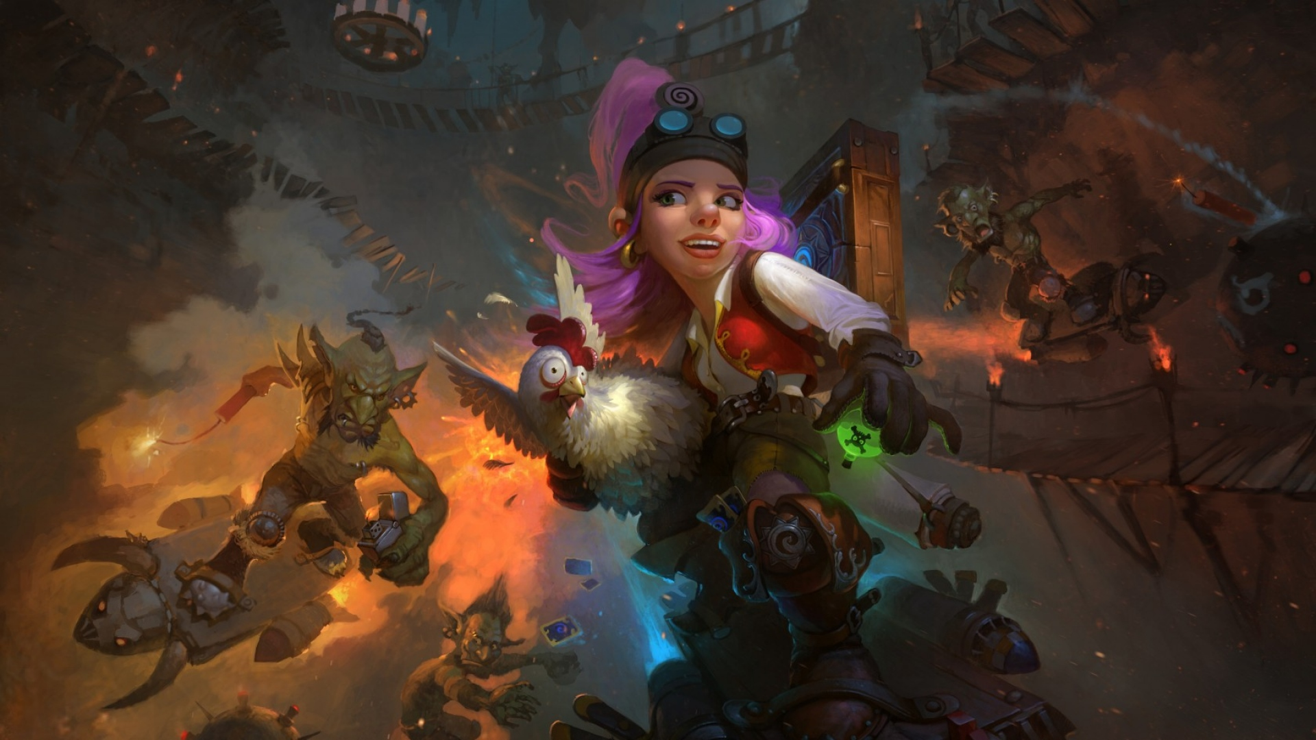 Hearthstone Heroes Of Warcraft Full HD Wallpaper And Background