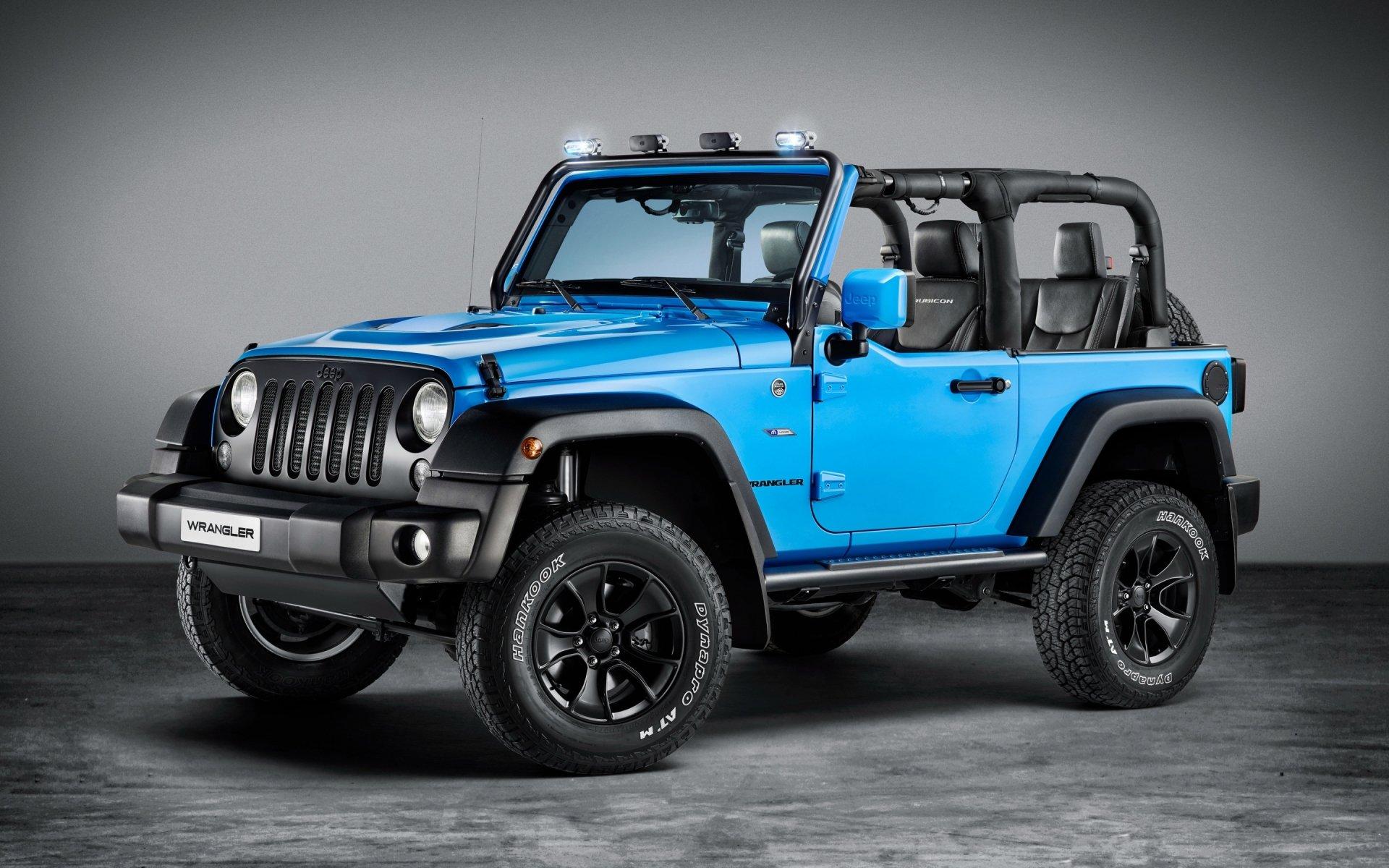 Vehicles - Jeep Wrangler  Jeep Car Vehicle Blue Car Off-Road Wallpaper